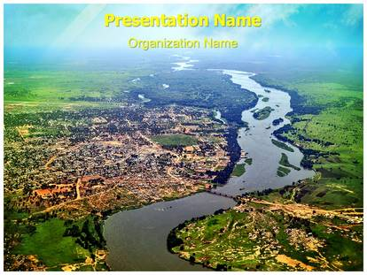 Nile river powerpoint template background subscriptiontemplates 1g toneelgroepblik Image collections