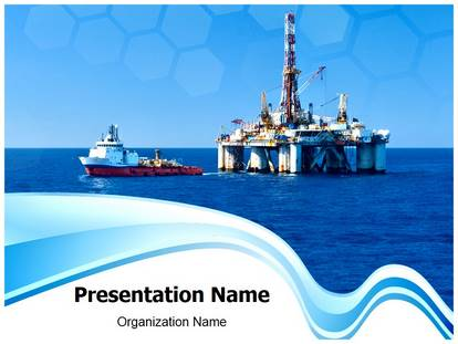 offshore powerpoint template background | subscriptiontemplates, Presentation templates