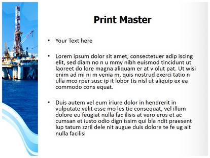 Offshore PowerPoint Template Background | SubscriptionTemplates com