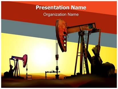 Oil rig powerpoint template background subscriptiontemplates oil rig powerpoint template 02945 standard 43 1g toneelgroepblik Images