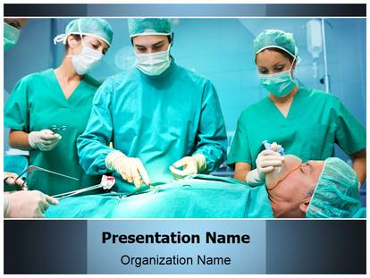Operation theatre powerpoint template background 1g toneelgroepblik Images