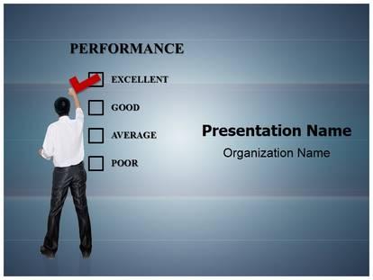 performance appraisal powerpoint template background, Presentation templates