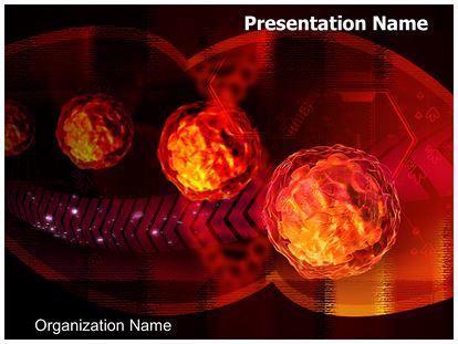 polio virus powerpoint template background | subscriptiontemplates, Modern powerpoint