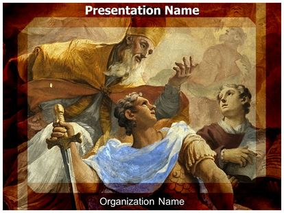 renaissance powerpoint template background  subscriptiontemplates, Powerpoint