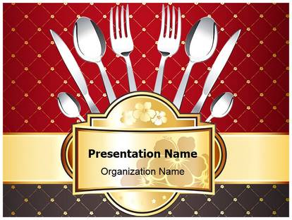 Restaurant concept powerpoint template background 1g toneelgroepblik Image collections