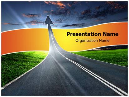 Road to heaven powerpoint template background 1g toneelgroepblik Image collections
