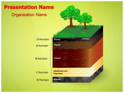 Soil layers powerpoint template background subscriptiontemplates 1g toneelgroepblik Images