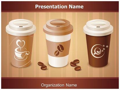 Starbucks Coffee PowerPoint Template Background
