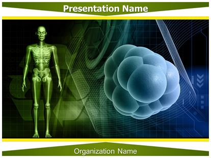 Stem Cells Powerpoint Template Background Subscriptiontemplates