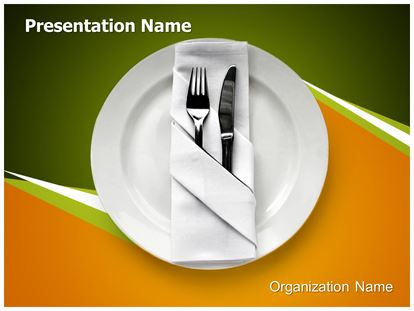 Table setting powerpoint template background 1g pronofoot35fo Image collections