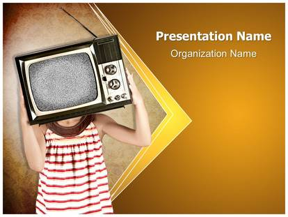 Television addiction powerpoint template background 1g toneelgroepblik Gallery