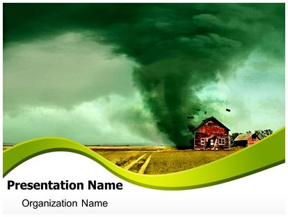 tornado powerpoint template background | subscriptiontemplates, Modern powerpoint