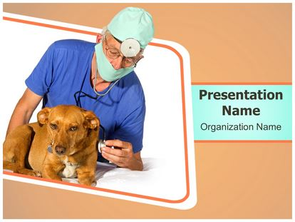 Veterinarian powerpoint template background 1g toneelgroepblik Choice Image