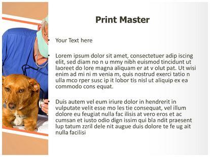 Veterinarian powerpoint template background subscriptiontemplates 1g 2g 3g toneelgroepblik Choice Image