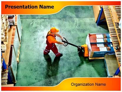 Warehouse worker powerpoint template background 1g toneelgroepblik Gallery