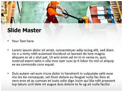 Warehouse worker powerpoint template background 1g 2g toneelgroepblik Gallery