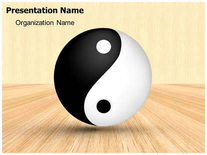 Yin yang powerpoint template background subscriptiontemplates 1g toneelgroepblik Gallery