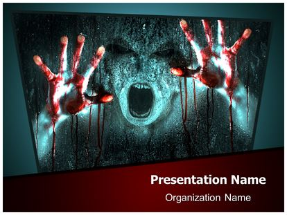 Zombie powerpoint template background subscriptiontemplates 1g toneelgroepblik Images