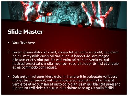 Zombie powerpoint template background subscriptiontemplates 1g 2g toneelgroepblik Image collections